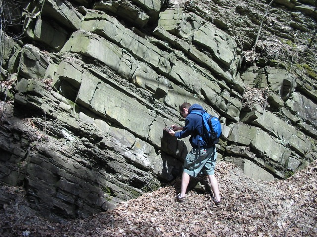 Geology of Wolf Hollow, Schenectady County, NY