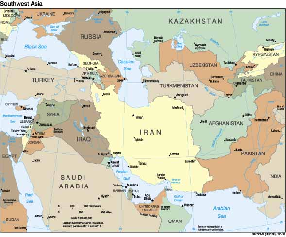 Unit Economic Development Rosse World Geography - Iran map quiz